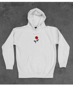 New Hoodie Rose Flower Unisex on Sale