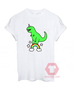 Best T shirt T-Rex Green Unisex on Sale
