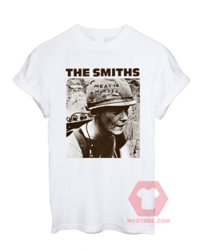 Best T shirt THE SMITHS Meat is Murder Unisex on Sale
