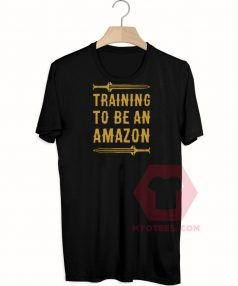 Best T shirt Training To Be An Amazon Parody Unisex on Sale