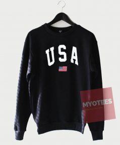 Cheap Sweatshirt USA Flag Jumper Unisex on Sale