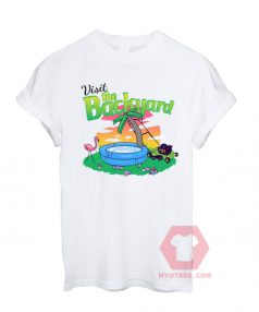 Best T shirt Visit The Backyard Unisex on Sale