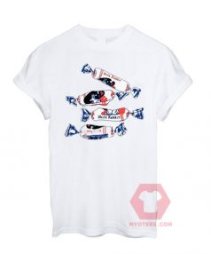 Best T shirt White rabbit candy T-shirt Unisex on Sale
