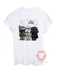 Best T shirts Boba it's cold outside Unisex on Sale