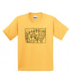 Best T shirts Cactus Collage Unisex on Sale