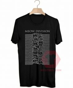 Best T shirts Meow Division Unisex on Sale