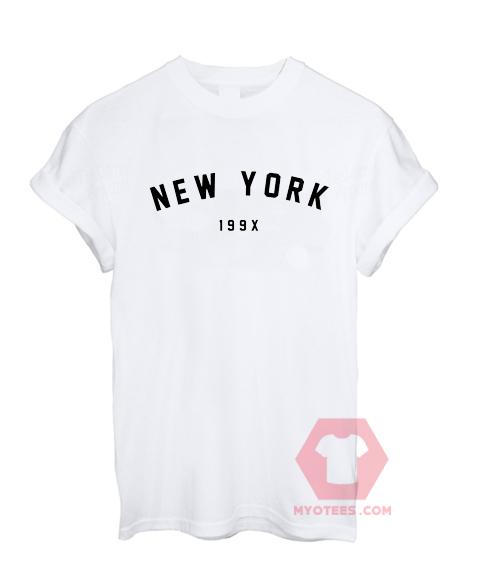 Best T shirts New York 199x Unisex on Sale 20a395aeb2c