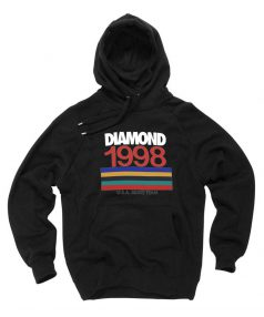 New Hoodie Diamond 1998 USA Skate Team Unisex on Sale