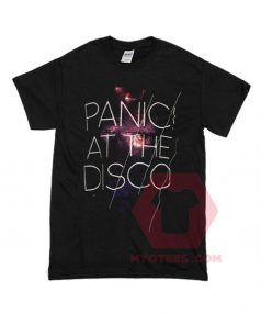 Custom Tees Panic At The Disco Unisex on Sale