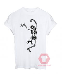 Custom Tees Popular Skeleton Unisex on Sale