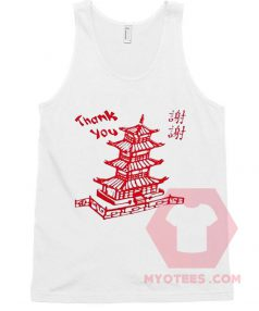 Buy Tank Top Thank You Chinesse Unisex on Sale