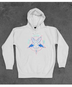 New Hoodie Evil Cutie Pentagram Unisex on Sale