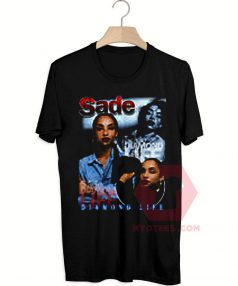 Custom Tees Sade Diamond Life Unisex On Sale