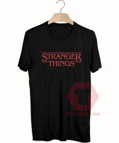 Custom Tees Stranger Things Unisex On Sale