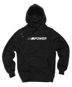 New Hoodie M Power Unisex on Sale
