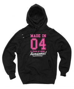 New Hoodie Made In 04 Awesome Unisex on Sale