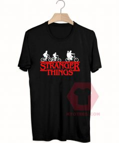 Custom Tees Stranger Things Bike Unisex On Sale