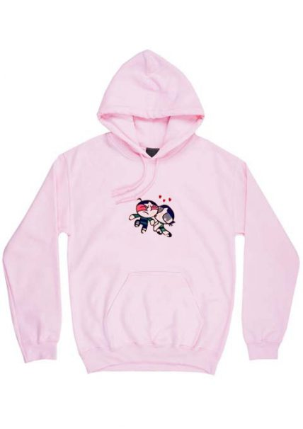 Cheap Custom Buttercup Kissing Butch Hoodie On Sale