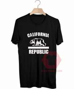 Cheap Custom Tees California Republic On Sale
