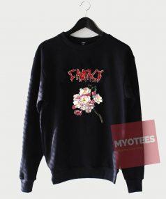 Cheap Custom Fantasy Flower Sweatshirt