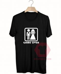 Cheap Custom Tees Game Over Funny On Sale