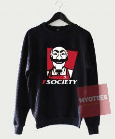Cheap Custom FSociety Sweatshirt