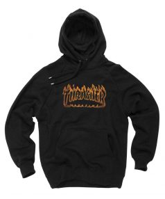 Cheap Custom Thrasher Magazine Richter Hoodie On Sale
