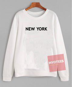 Cheap Custom Tees New York City Sweatshirt