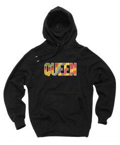Cheap Custom Queen Font Hoodie On Sale