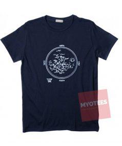 Cheap Custom Tees Blue Constellation On Sale