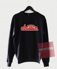 Affordable Custom Chillin Red Sweatshirt
