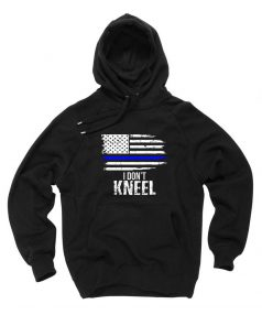 Affordable Custom I Don't Kneel Hoodie On Sale