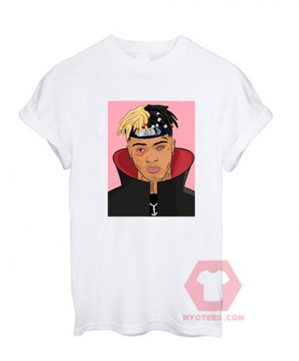 Affordable Custom XXXTentacion Sasuke T-Shirt