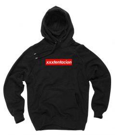 Affordable Custom XXXTentacion Supreme Parody Hoodie On Sale