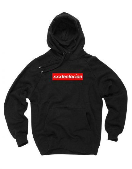 Affordable Custom XXXTentacion Supreme Parody Hoodie On Sale