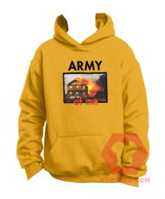 Affordable Custom Army Of Me Hoodie On Sale
