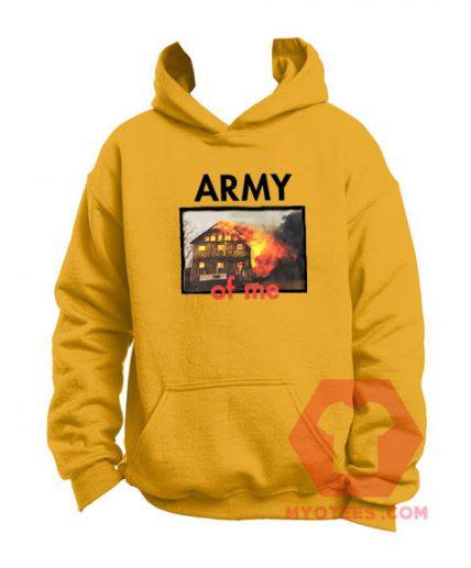 Affordable Custom Army Of Me Hoodie On Sale