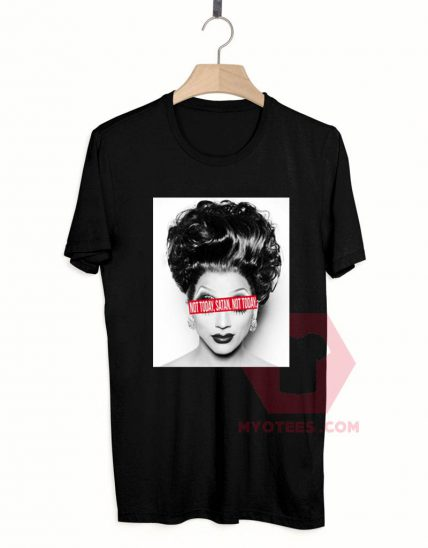 Affordable Custom Not Today Satan T-Shirt