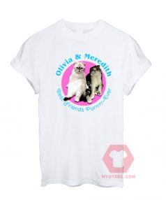 Affordable Custom Olivia And Meredith Swift T-Shirt