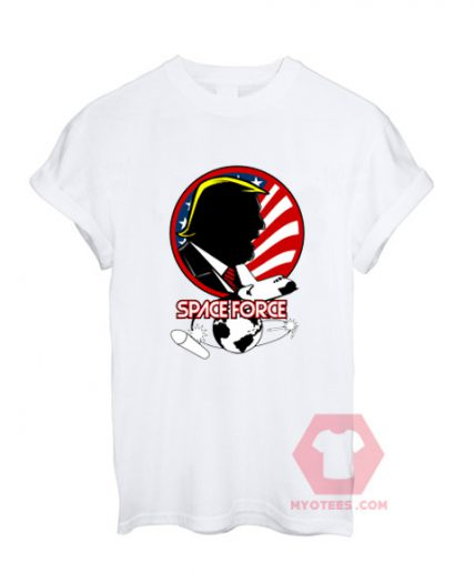Affordable Custom Space Force Trumph T-Shirt