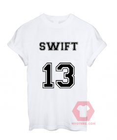Affordable Custom Swift Thirteen T-Shirt