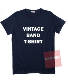 Affordable Custom Vintage Band T-Shirt