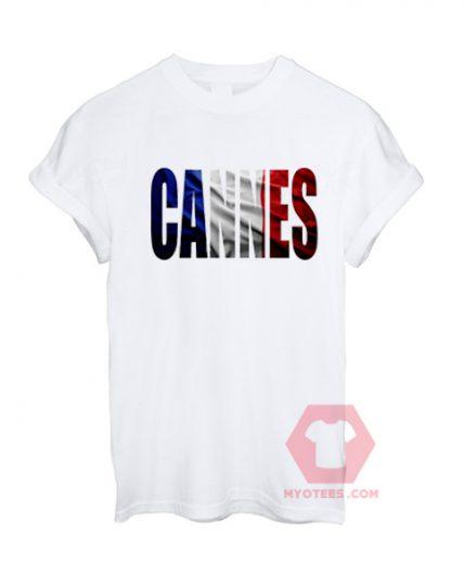 Affordable Custom Cannes T-Shirt