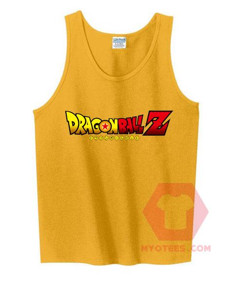 Affordable Custom Dragon Ball-Z Tank Top
