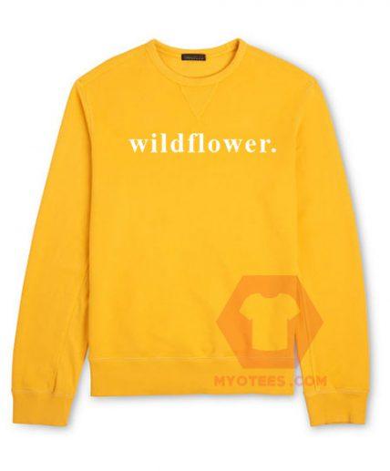 Affordable Custom Wildflower Sweatshirt