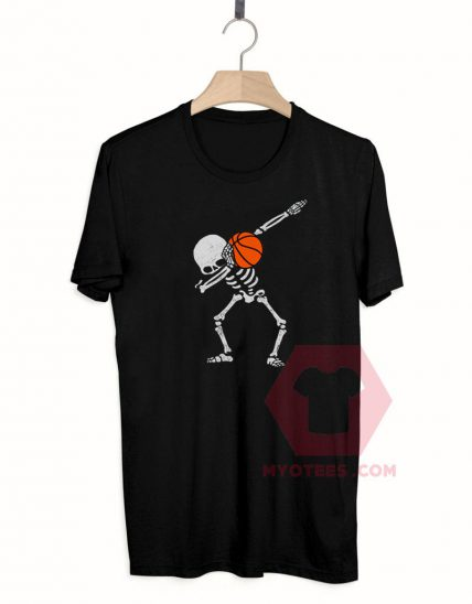 Halloween Dabbing Skeleton T Shirt For Sale