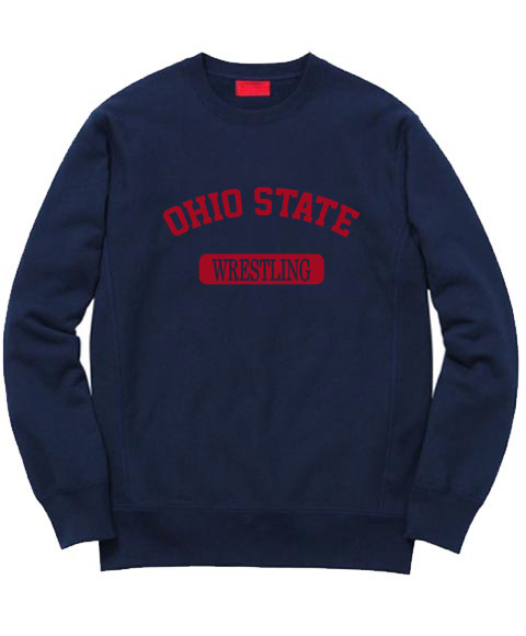 Cheap Custom Ohio State Wrestling Sweatshirt