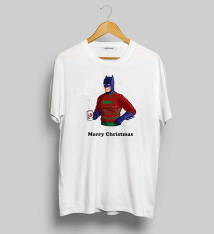 Batman Merry Christmas T Shirt For Sale