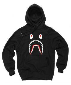 Cheap Bape Shark Funny Hoodie