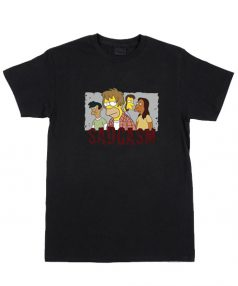 Bart Family Sadgasm Funny T Shirt For Sale